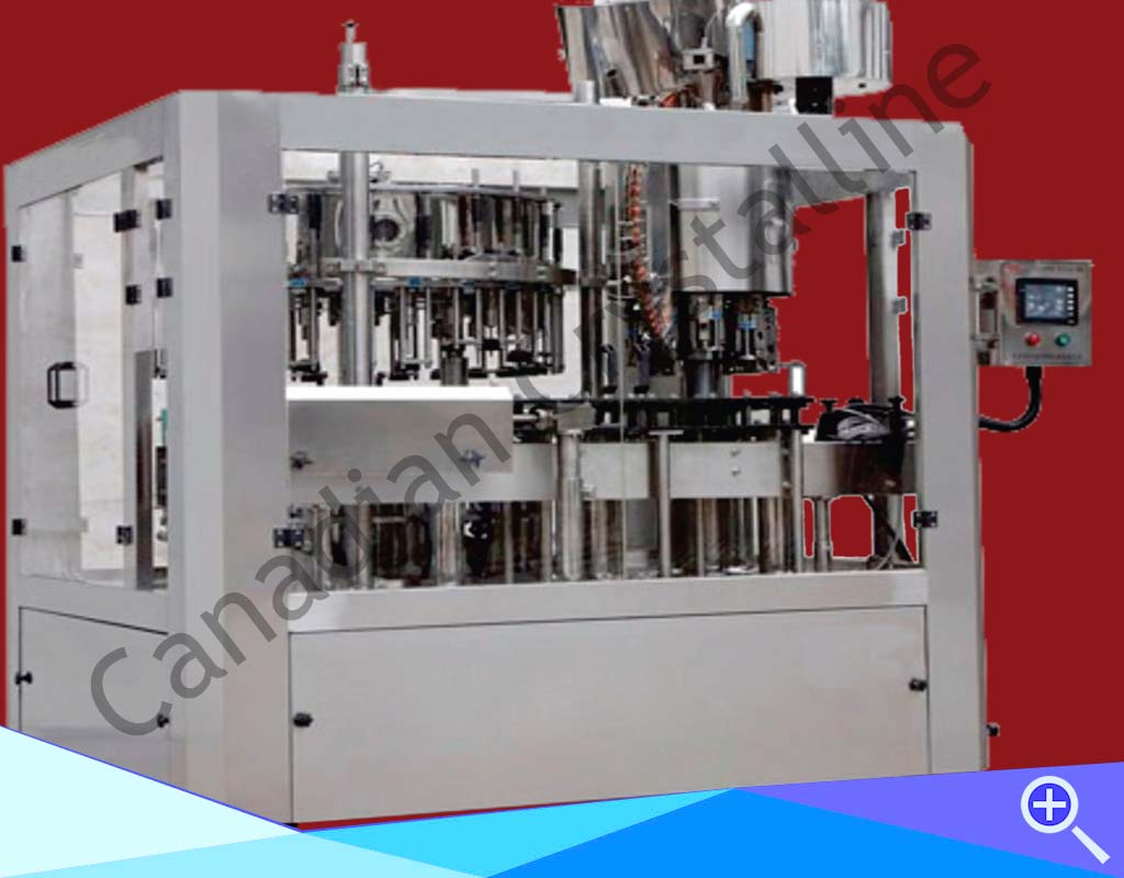 100-200BPM-Automatic-glass-bottle-filler-crowner